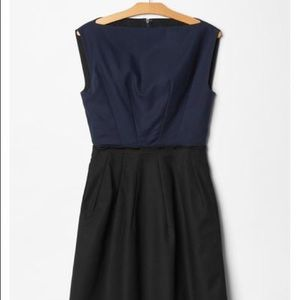 🌟GAP🌟 Fit and Flare color block dress